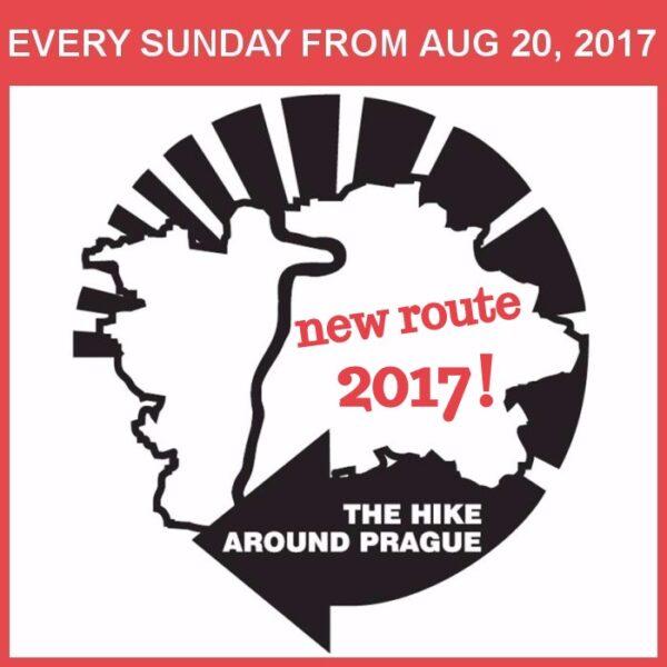 The Hike Around Prague 2017 has begun!